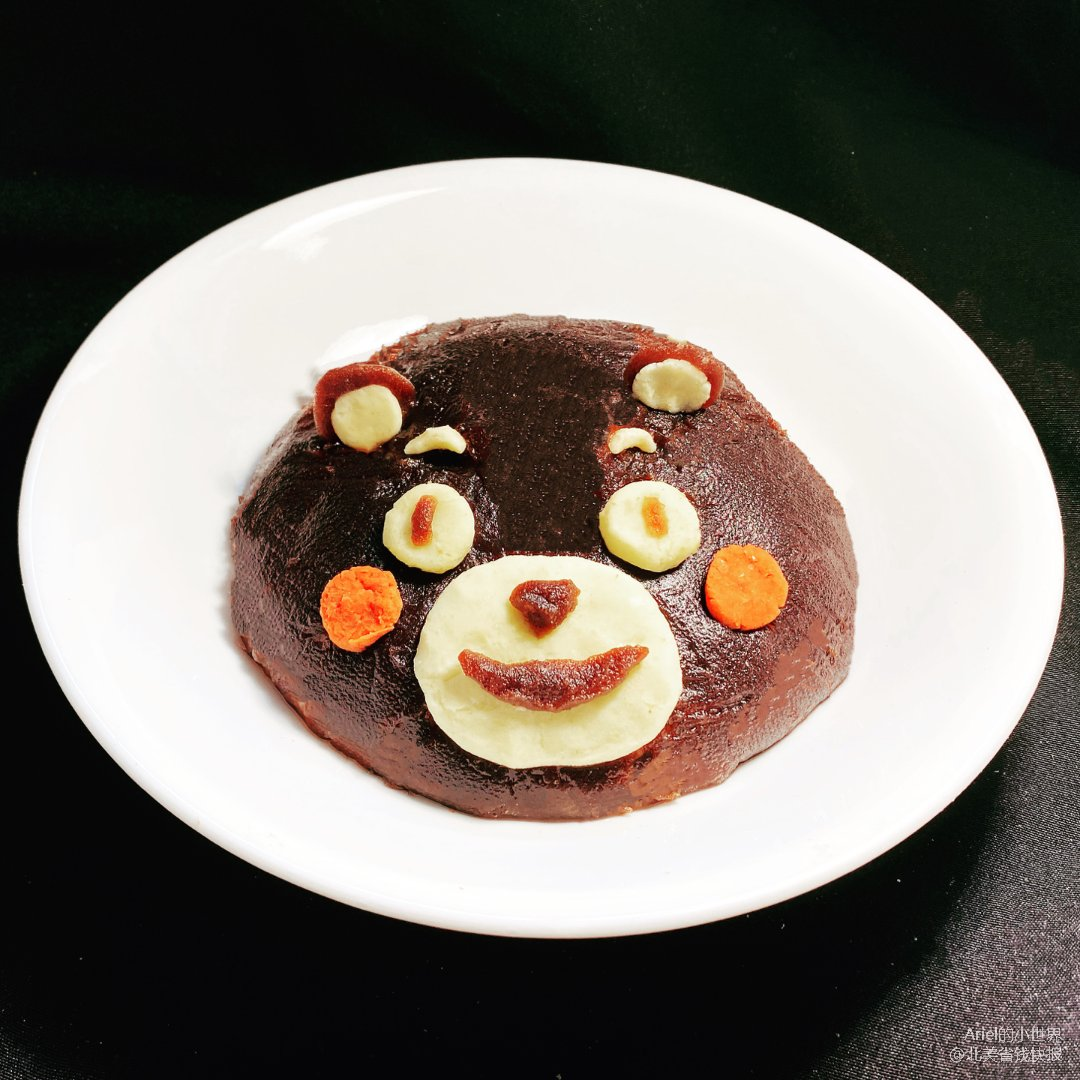 Ariel料理110:熊本熊八宝饭