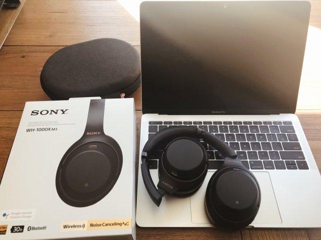 Sony WH-1000XM3 降噪耳机