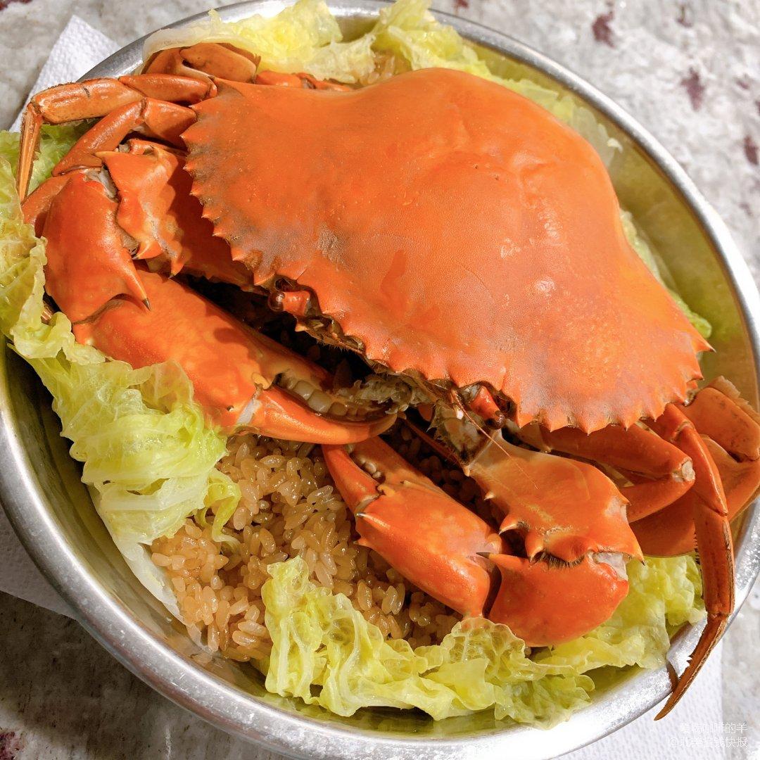 黑五狂欢吃篇5.5 膏蟹糯米饭