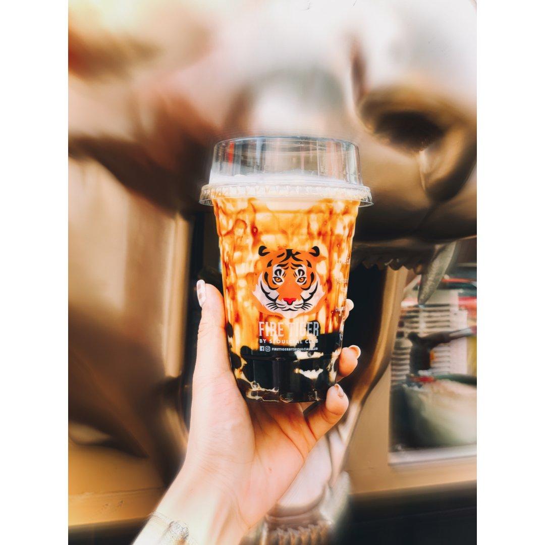 🇹🇭泰国美食|网红奶茶|🔥🐯Fir...