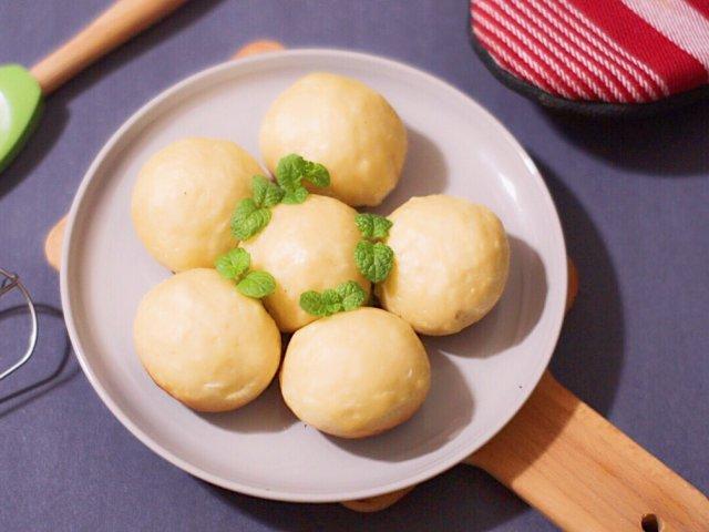 【懒人电饭锅食谱】自制简单包子