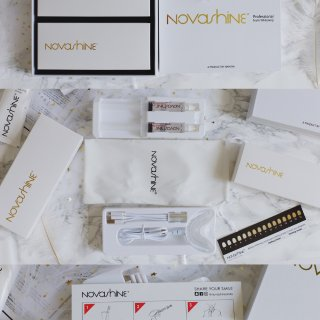 【Novashine】牙齿美白套餐 | 还你亮白牙齿🦷