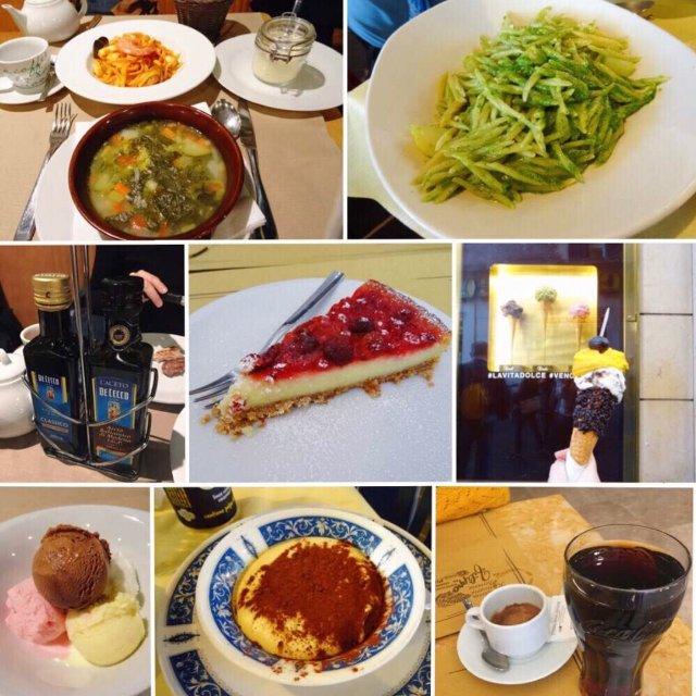 意大利的美食之旅
