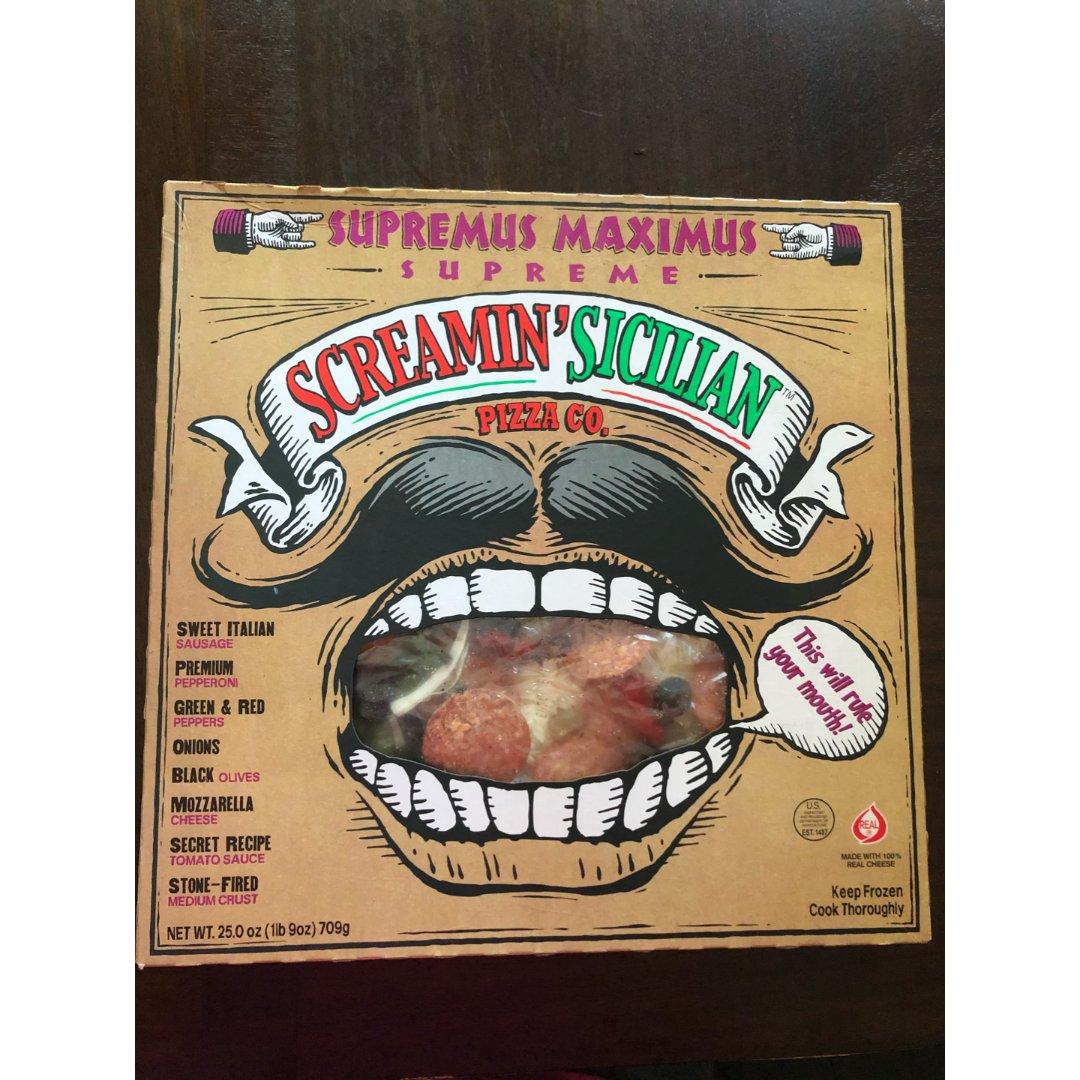 推荐这款冷冻pizza给你们