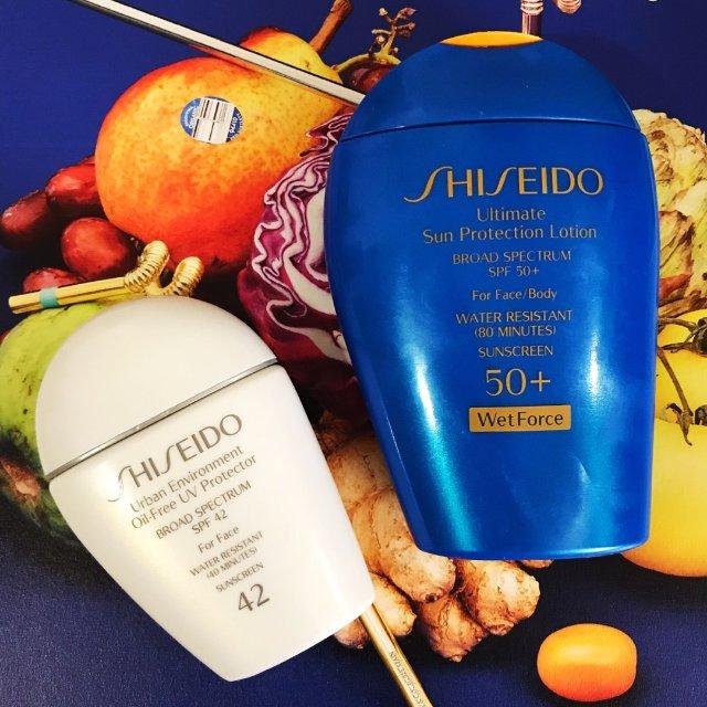 Shiseido小白瓶&小蓝瓶防晒