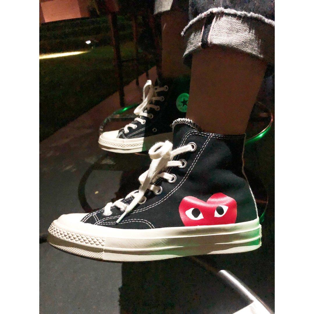 Converse X 川久保玲合作鞋...