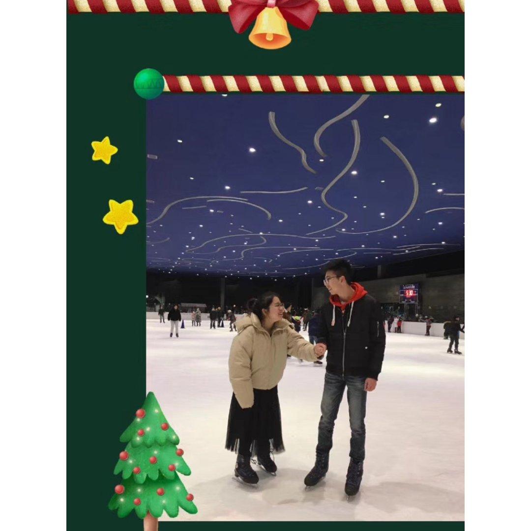 冬日冰上恋情❄️