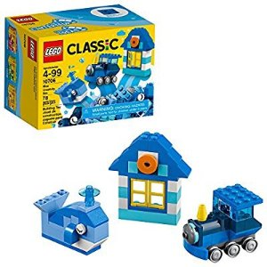 $3.99 LEGO Classic Blue Creativity Box 10706 Building Kit @ Amazon.com