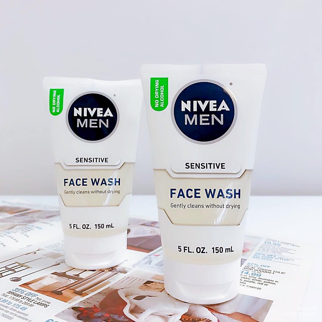 黑五|Nivea男士敏感肌洗面乳