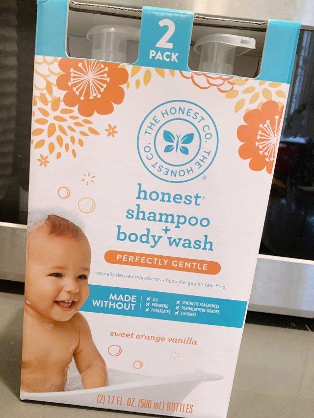 宝宝洗澡用品首选