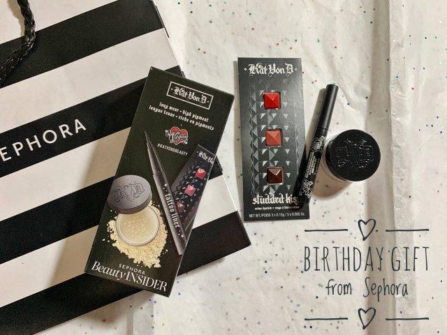 生日礼物🎂🎁from Sephora