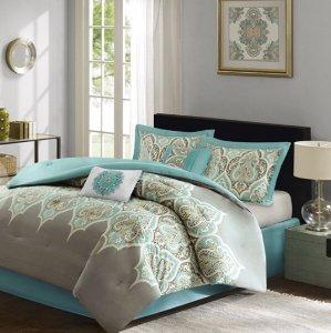 $29Madison Park Maya 6 Piece Comforter Set @ Designer Living