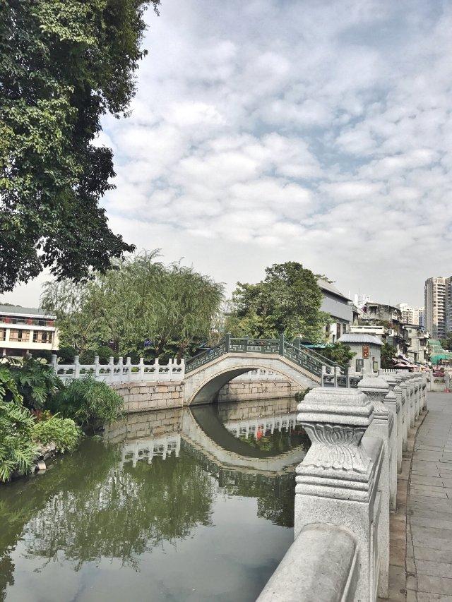 广州荔枝湾公园⛲️