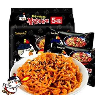 【深夜食堂】用韩式火鸡面做个中式炒面~...