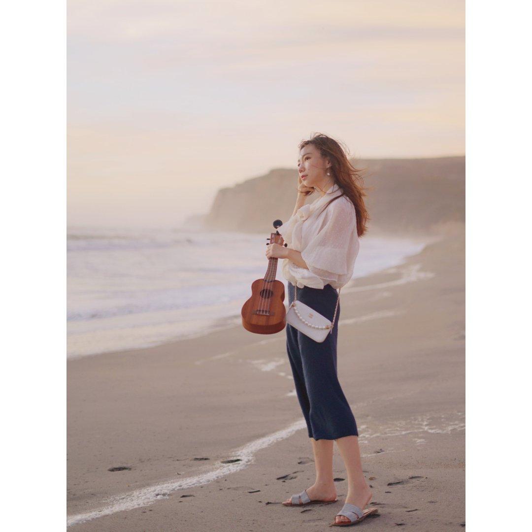 【海滩漫步Zara风Look】