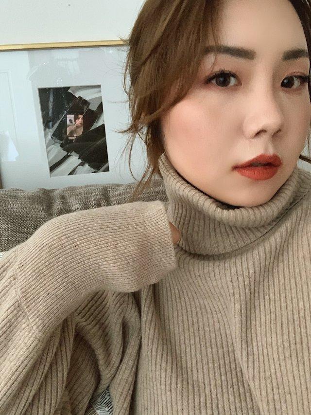 秋冬日系妆容