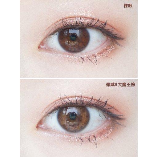 👀日抛 | 模拟虹膜的轻混血美瞳