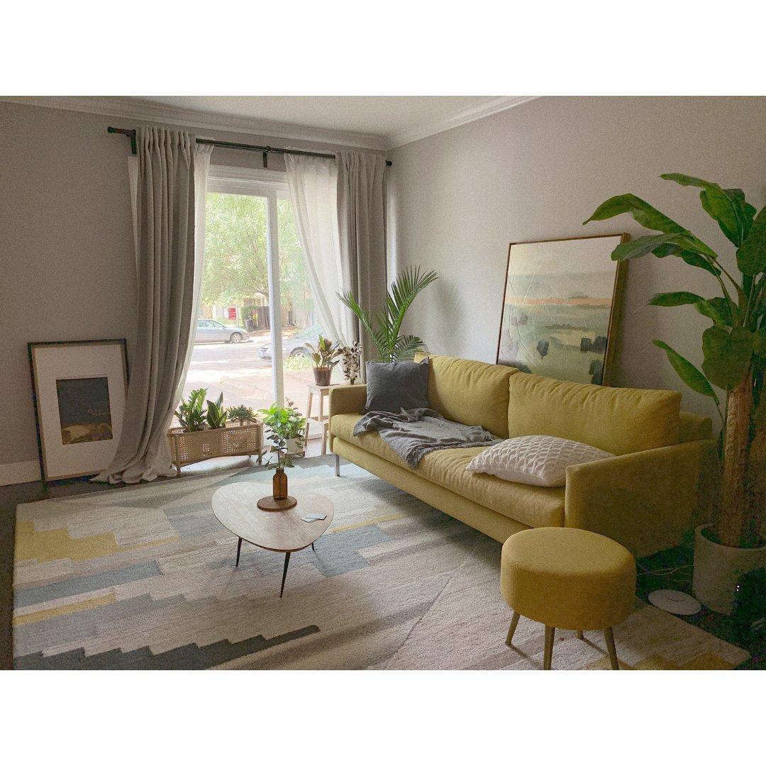 新家对比图🏠客厅Living ro...