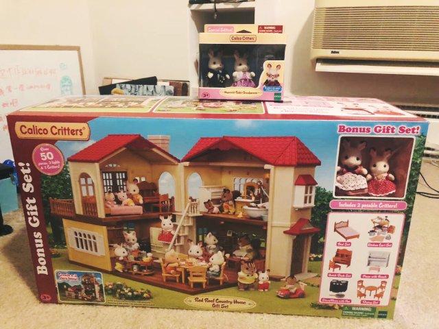 收藏大坑 | 森贝尔家族的情景玩偶🐰