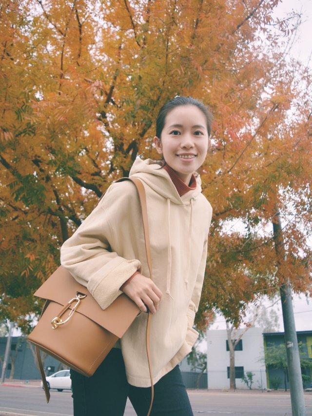 穿搭|超舒服的秋天的颜色
