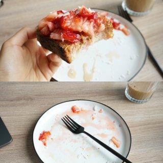 三种意想不到但超级健康好吃的吐司做法😍...