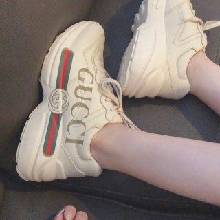 Gucci 老爹鞋   超显腿细的神鞋...