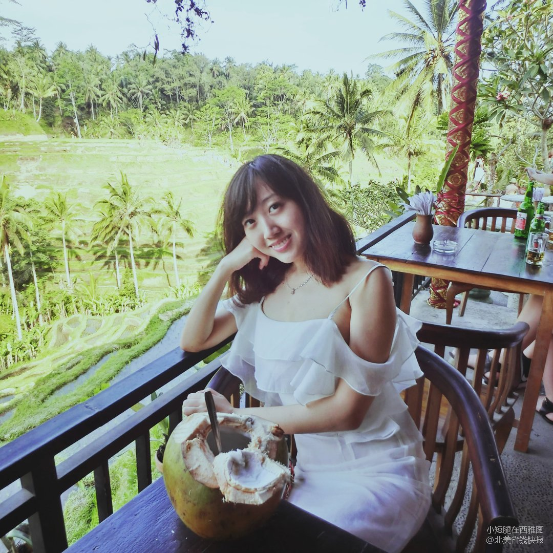 在巴厘岛看梯田