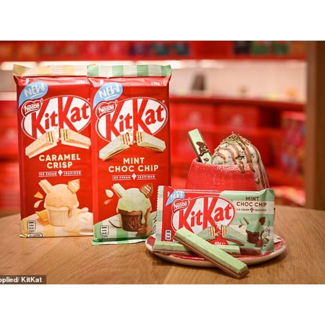 🍫 KitKat上新口味啦 夏日巧...