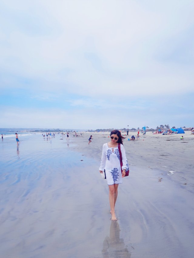 圣地亚哥的全美最美海滩Conora...