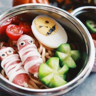 快手菜-万圣节午餐...