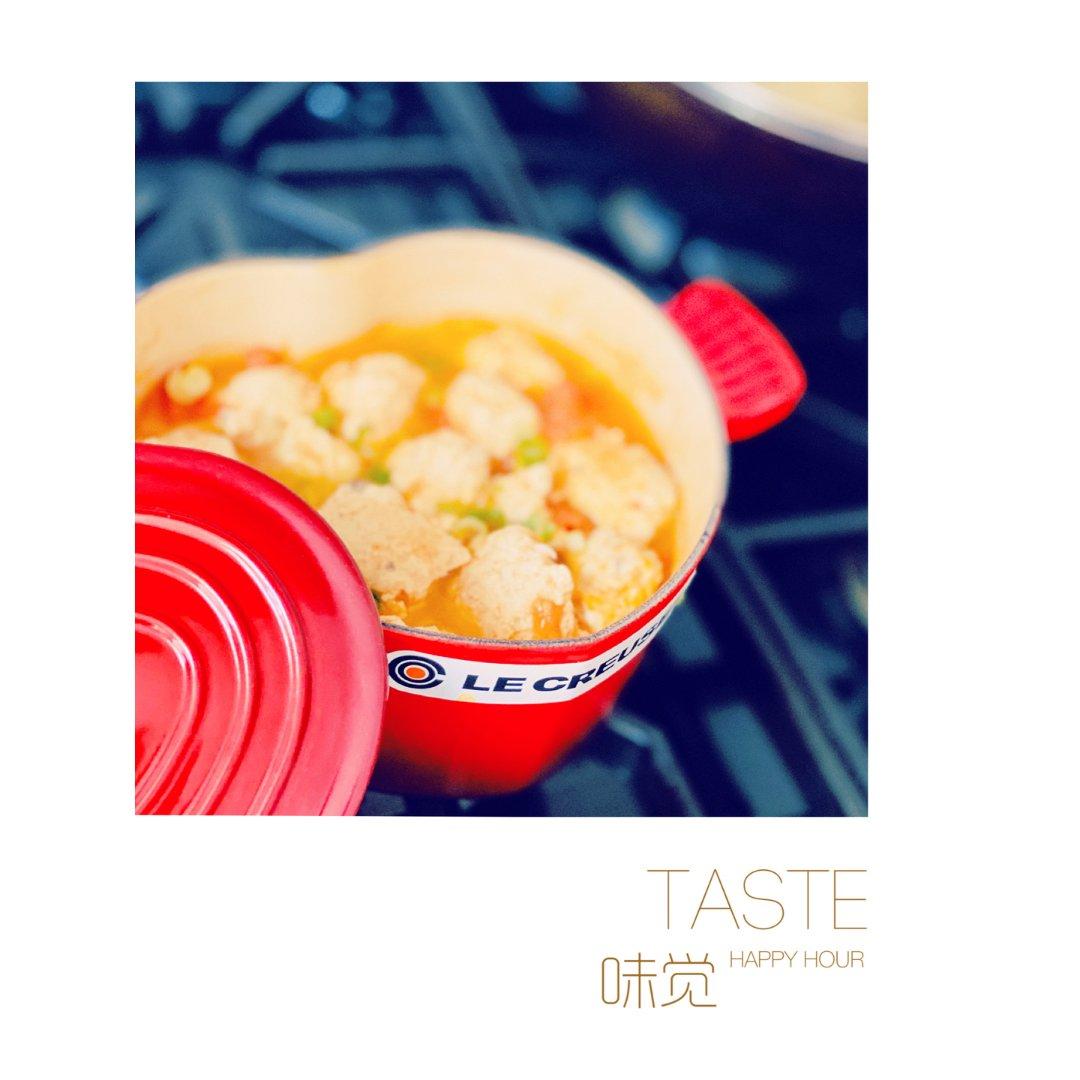 番茄鸡滑汤|宝宝也爱吃的营养汤🥣