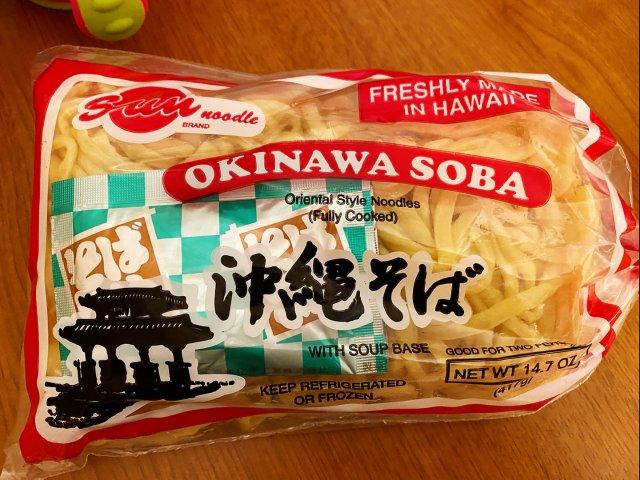 不用荞麦的冲绳荞麦面