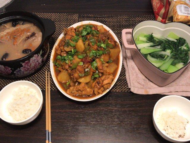 家庭温馨晚餐——大盘鸡🐔