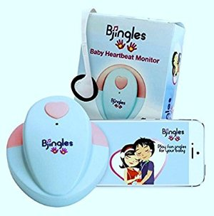Amazon.com : Bjingles Heartbeat Baby Monitor -Listen to the sounds your unborn makes-Perfect Pregnancy Gift- Includes a great Bjingles Pregnancy App : Baby