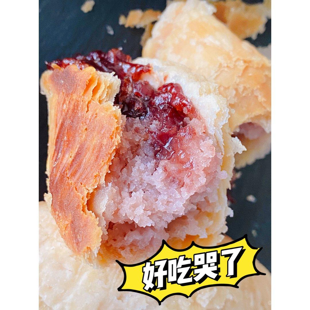 【红豆芋泥酥】#食谱#