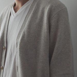 3D针织 纯羊毛开衫