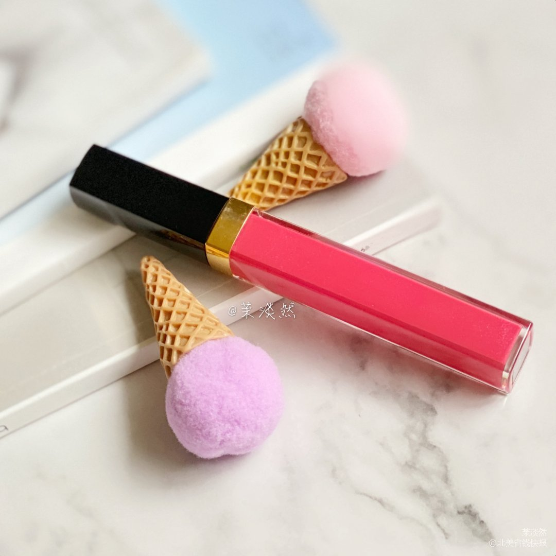 唇蜜试色|闪耀水润透光的Chanel唇蜜