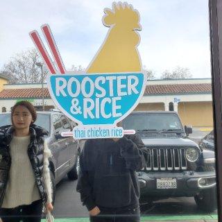 家门口的海南鸡饭rooster and ...