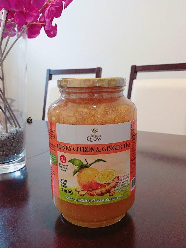 蜂蜜生姜柚子茶🍯