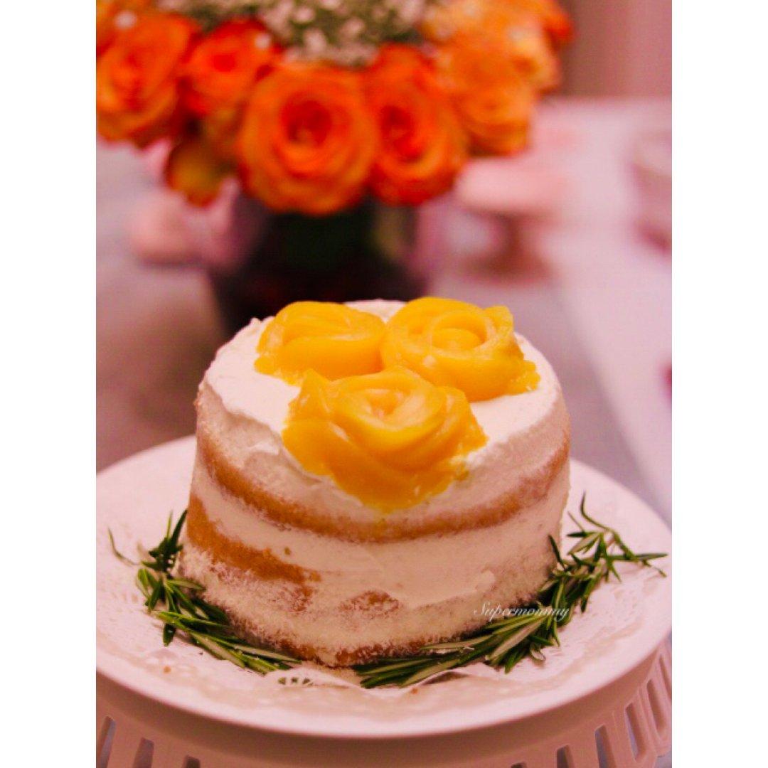 🎂做个蛋糕给超爸庆生🎂