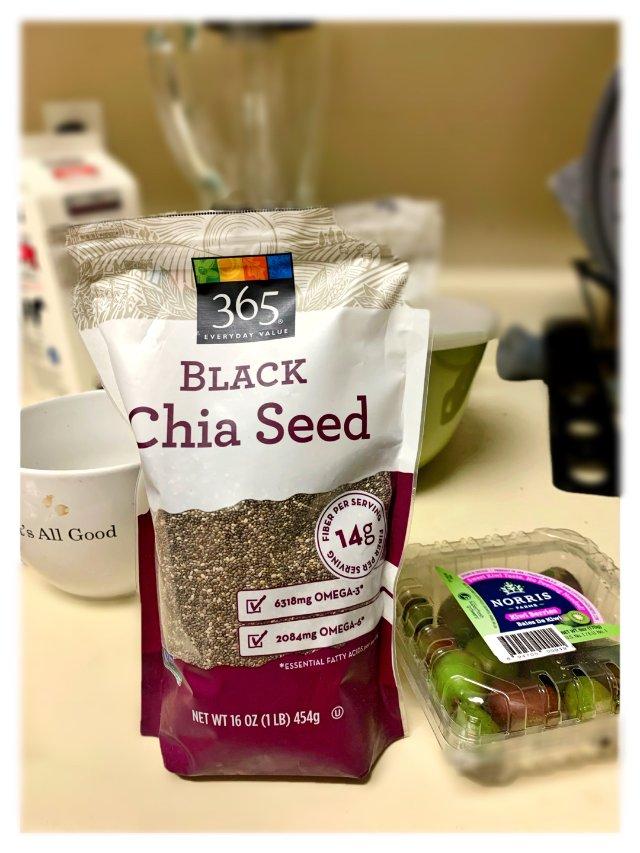 健康食品推荐 美容养生chia seed