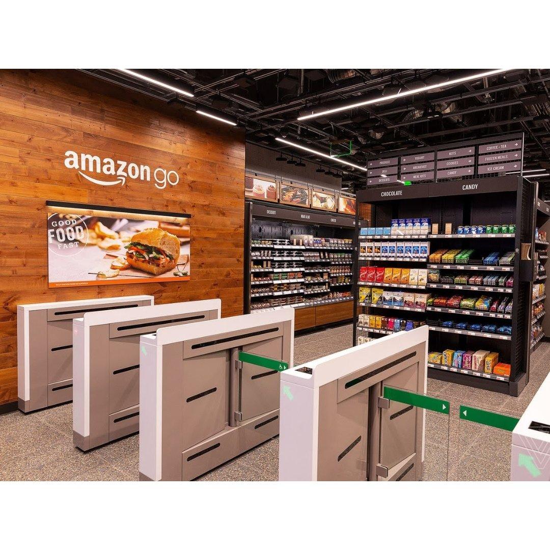 Amazon Go无人超市体验