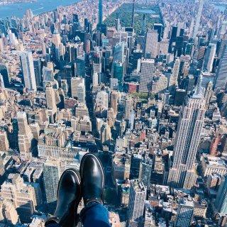 换个角度看纽约 无门直升机tour俯瞰中...