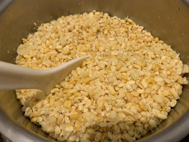 中秋烘培難產日|煮的超辛苦的綠豆餡