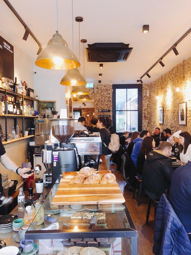 伦敦美食|伦敦小资咖啡馆打开周六早晨