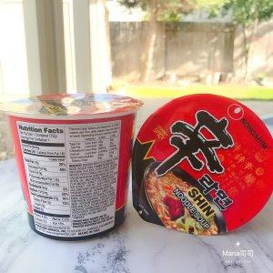 $6.48 (原价$10.39)Nongshim 农心辛拉面75g x 6杯   3分钟即食好味道