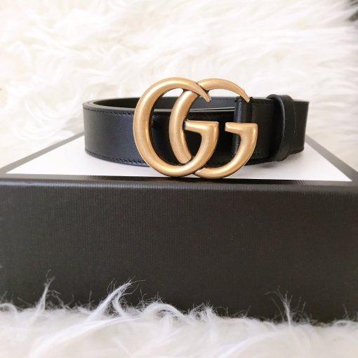 年中剁手   Gucci双G logo皮带