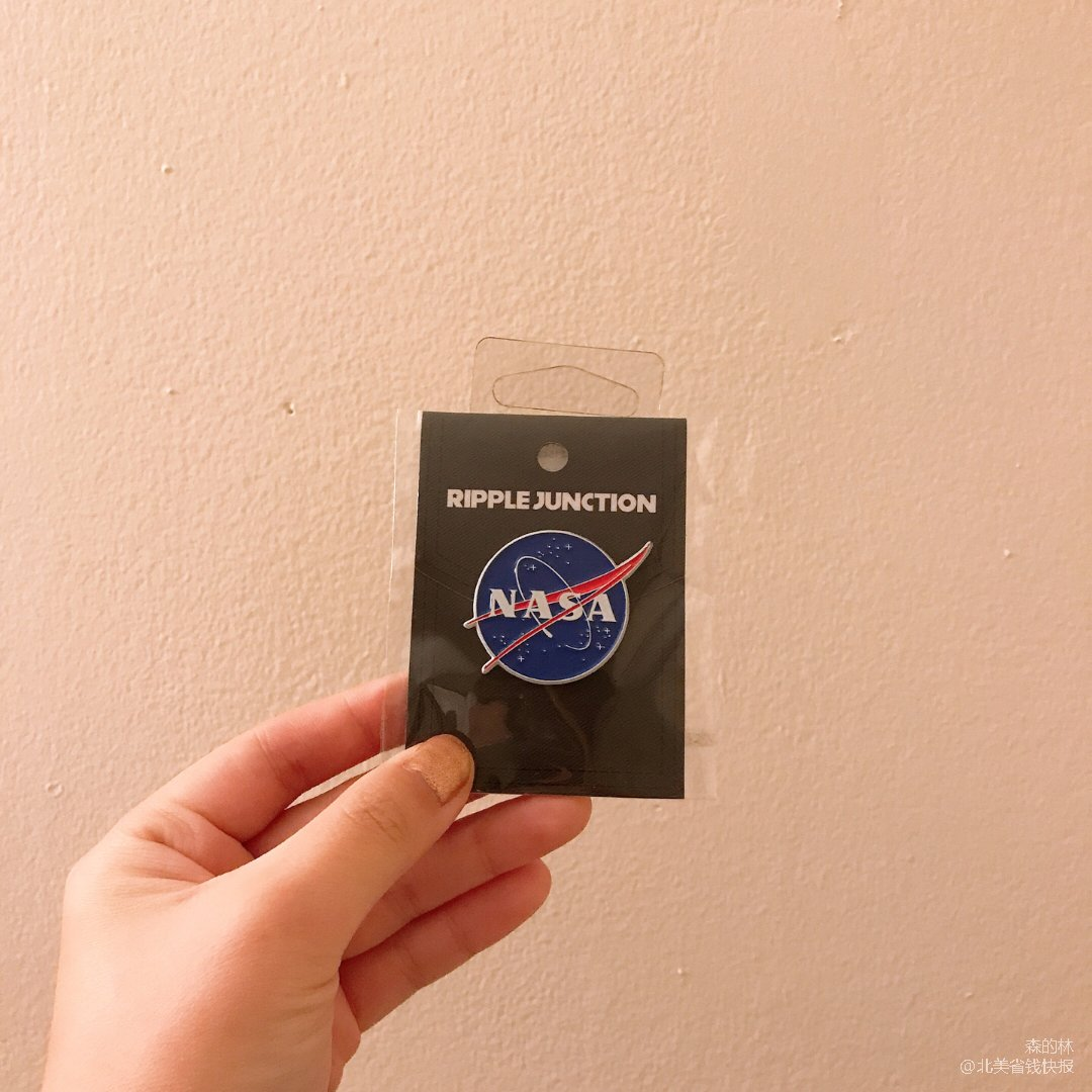 【黑五狂欢倒计时10】NASA Pin