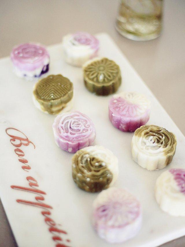 中秋节 | 颜值爆表的🌹&🍵冰皮月饼