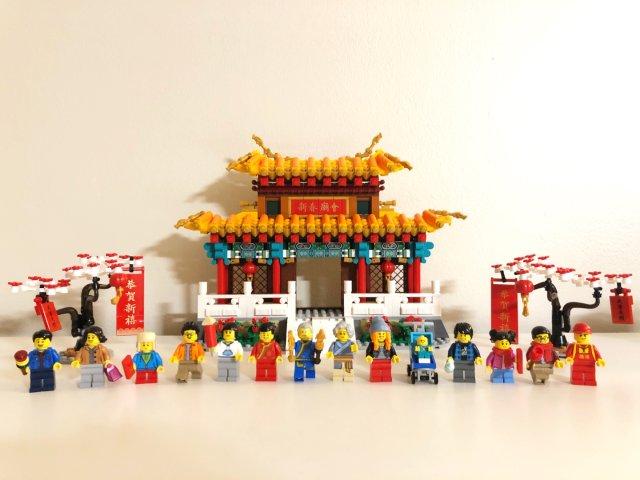 2020春节庙会lego